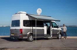 Volkswagen Grand California 680, 2019, rear, static