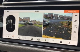 Range Rover Velar, 2017, camera, split display