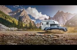 Mercedes X-Class camper van concept