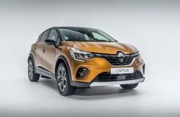 Renault Captur, 2019, front