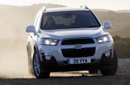 Chevrolet Captiva, front