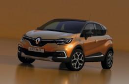 Renault Captur, 2017, front