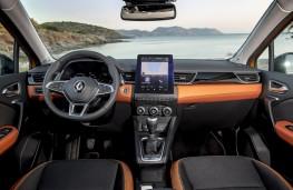Renault Captur, 2019, interior, manual