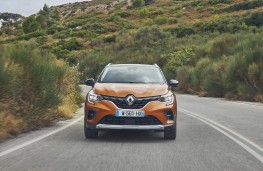 Renault Captur, 2019, nose