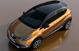 Renault Captur, 2017, overhead
