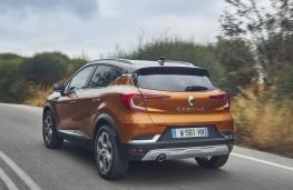 Renault Captur, 2019, rear, action