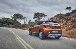 Renault Captur dCi 90 EDC, 2017, rear, action