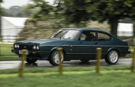 Ford Capri 2.8, 1986, front, action