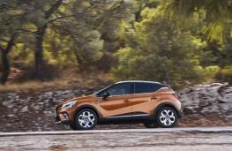 Renault Captur, 2019, side, action