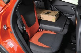 Renault Captur, 2017, rear seats