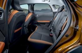 Renault Captur, 2019, rear seats