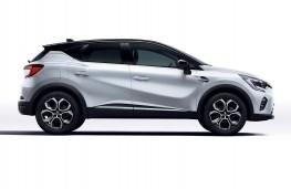 Renault Captur E-Tech, 2021, side