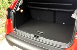 Renault Captur, 2017, boot