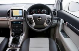 Chevrolet Captiva, instrument panel