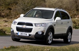 Chevrolet Captiva, side