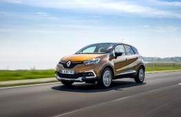 Renault Captur Signature S Nav, 2017, front, action