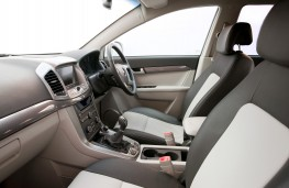Chevrolet Captiva, interior