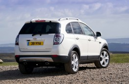 Chevrolet Captiva, rear