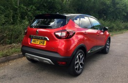 Renault Captur, 2017, rear