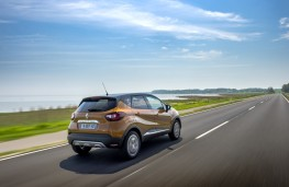 Renault Captur Signature S Nav, 2017, rear, action