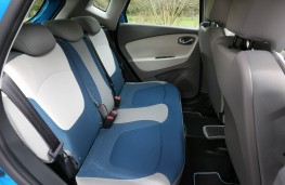 Renault Captur Signature S Nav, 2017, rear seats