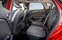 Renault Captur, 2020, rear seats