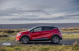 Renault Captur, 2020, side