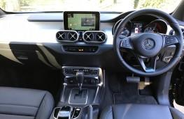 Mercedes X-Class, interior