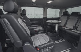 Volkswagen Caravelle, 2020, seats and table