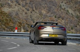 Vauxhall Cascada, rear, action