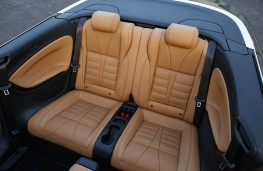 Vauxhall Cascada, rear seats