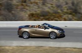Vauxhall Cascada, side, action