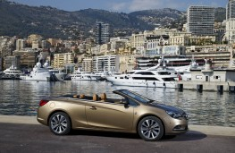 Vauxhall Cascada, side, static