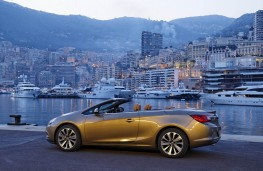 Vauxhall Cascada, side, twilight