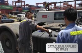 Cataclean, dockyard testing