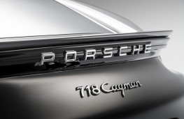 Porsche 718 Cayman, 2016, badge
