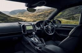 Porsche Cayenne S Diesel, interior