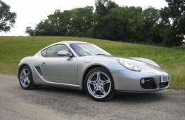 Porsche Cayman, side