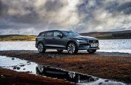 Volvo V60 Cross Country, 2019, front, static