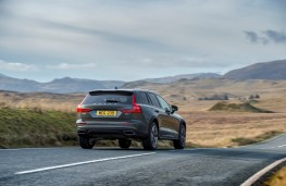 Volvo V60 Cross Country, rear, action