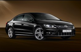 Volkswagen CC R-Line Black Edition, front