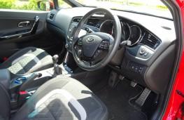 Kia cee'd Sportswagon, interior