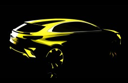 Kia Ceed crossover, sketch
