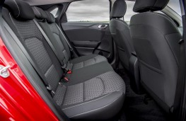 Kia Ceed, 2, 2018, rear seats