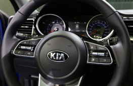 Kia Ceed, 2018, steering wheel