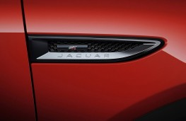 Jaguar E-PACE Chequered Flag, 2019, badge