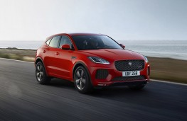 Jaguar E-PACE Chequered Flag, 2019, front