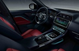 Jaguar F-PACE Chequered Flag, 2019, interior