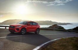 Jaguar E-PACE Chequered Flag, 2019, side