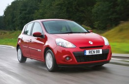 Renault Clio Expression Eco, front, action